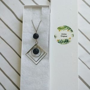 Lava Ring Aroma Necklace